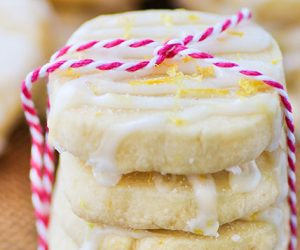 Lemon Shortbread Cookies-6
