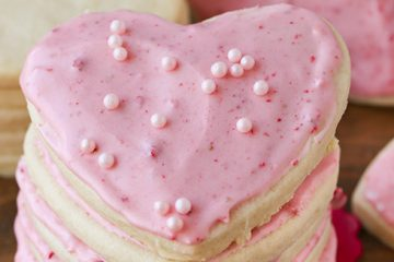 Frosted Strawberry Sugar Cookies-2