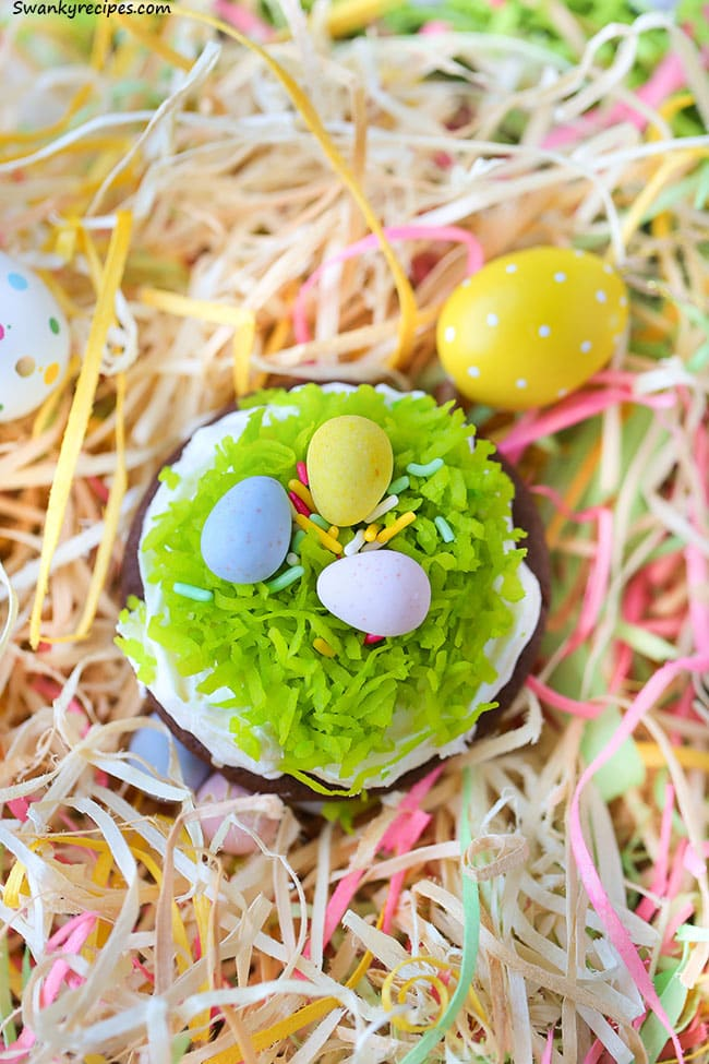 Chocolate Easter Cookies