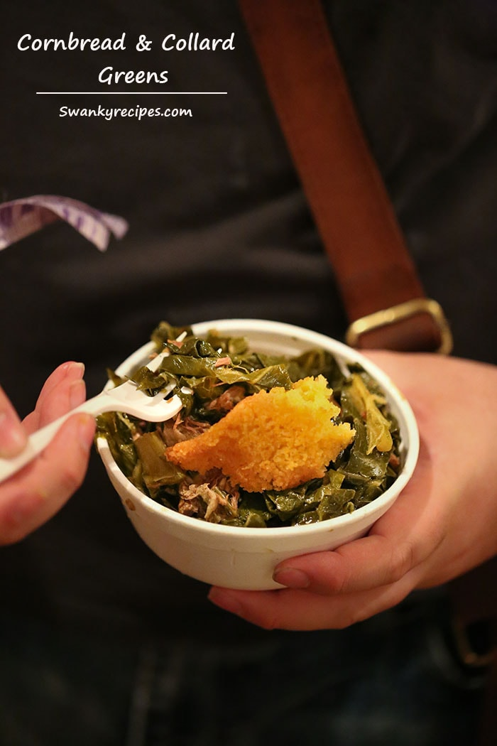 Cornbread and Collard Greens