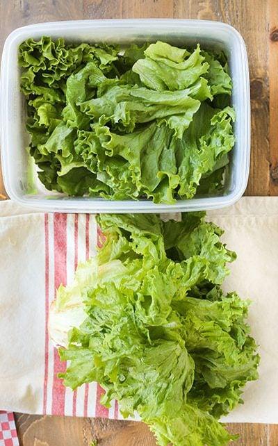 Produce lettuce