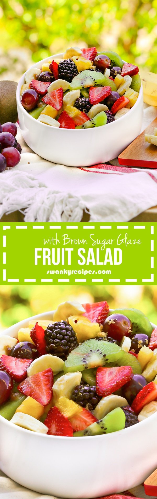 Fruit Salad with Brown Sugar Glaze