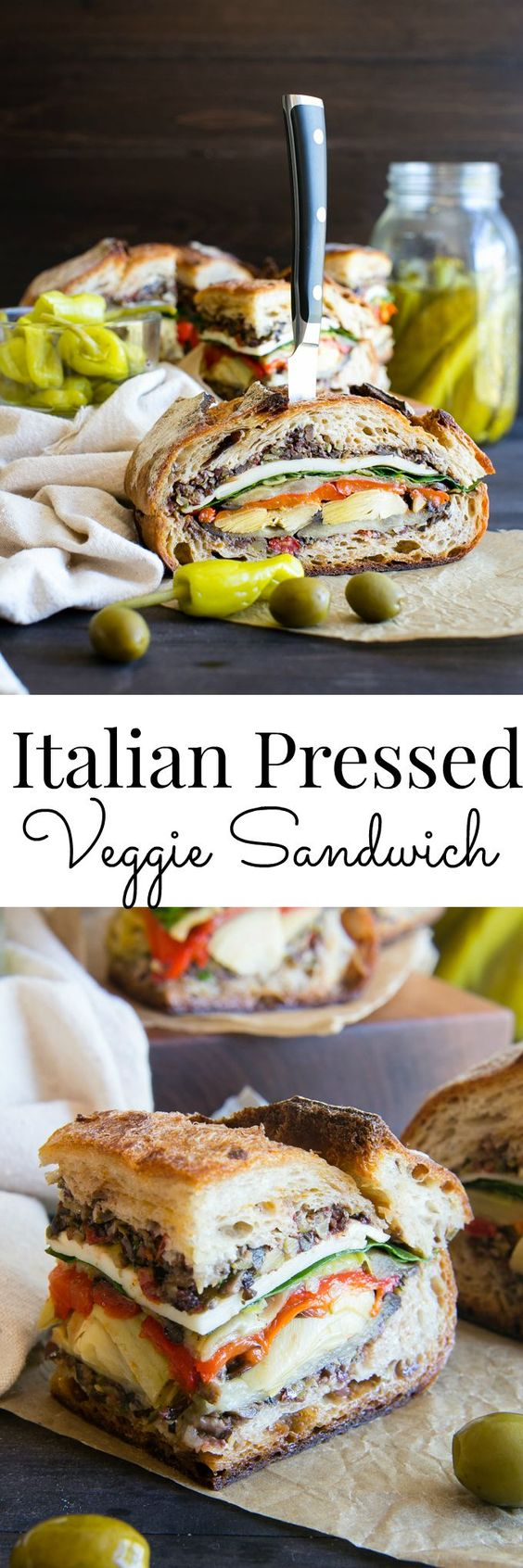 Italian Pressed Sandwiches - Italian Pressed Sandwiches make for a great appetizer this Memorial Day. Serve up these delicious sandwiches as sliders for any party occasion.