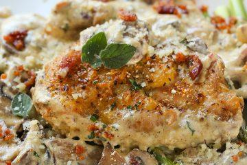 mushroom-gravy-chicken