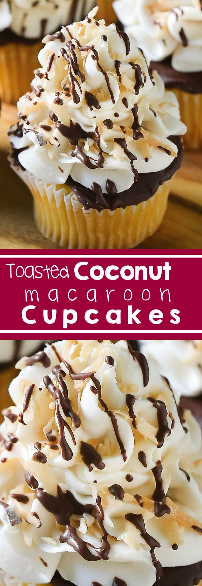 Coconut Macaroon Cupcakes