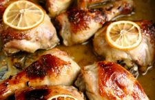 honey and lemon roasted chicken 2