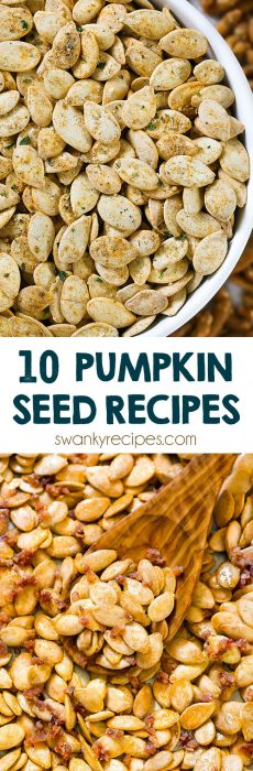 10 pumpkin seed recipes - pumpkin seeds