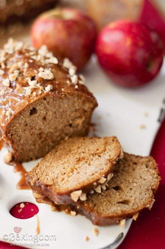 Caramel Apple Crumb Bread 2