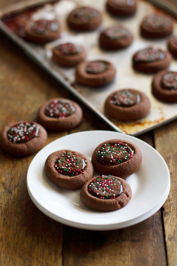 Chocolate Thumbprint Cookies Swanky Recipes