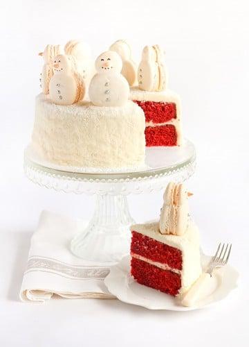 Red Velvet Christmas Cake 3
