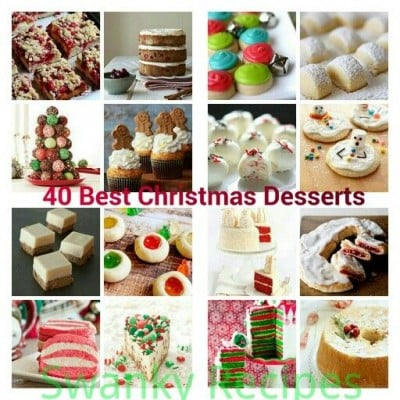 40 Best Christmas Dessert Recipes