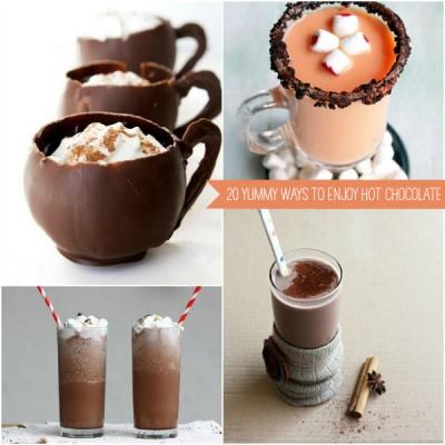 20 Ways to Enjoy Hot Cocoa