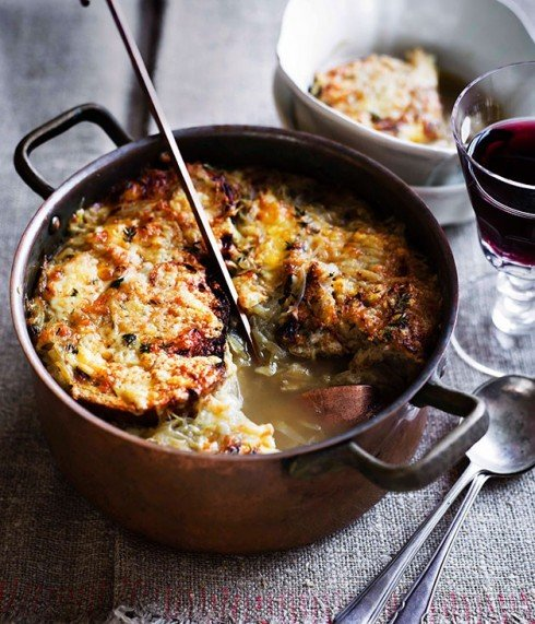 Cheese and Onion Soup