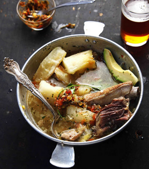 Chicken and Beef Soup