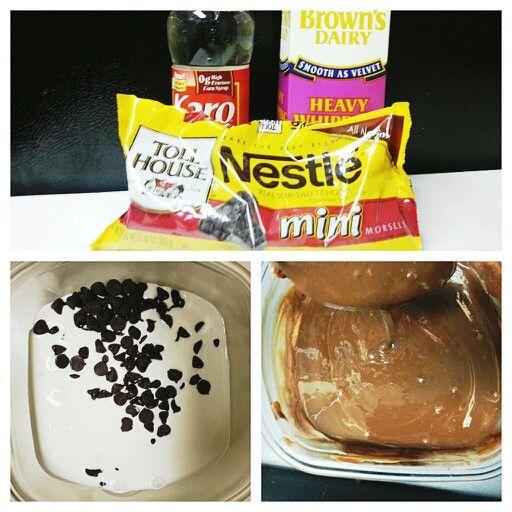 Chocolate Ganache Steps