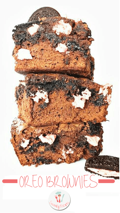 Easy Oreo Brownies