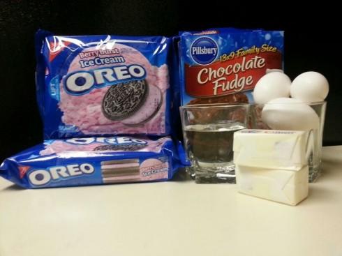 Oreo Brownie Ingredients