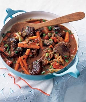 Spring Lamb and Vegetable Stew