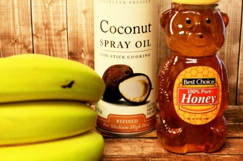 Honey Fried Coconut Bananas