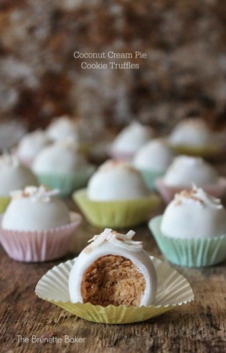 Coconut Cream Pie Truffles