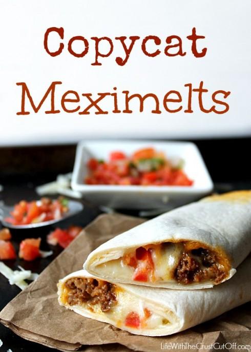 Copycat Meximelts recipe