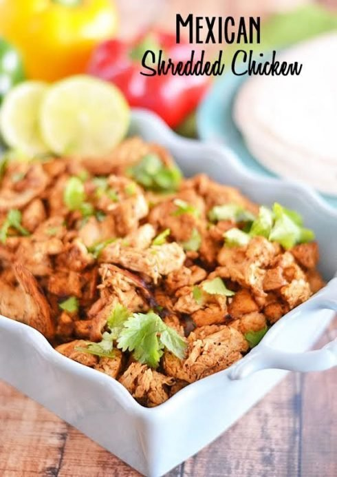 Mexican Shredded Chicken