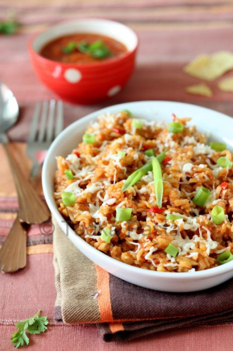 Mexican Style Brown Rice