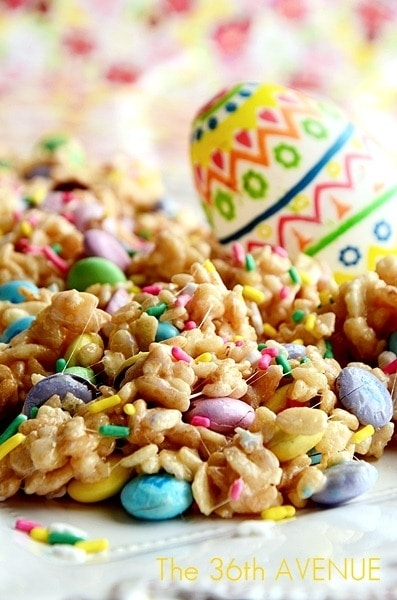 Springtime Rice Crispy Treat