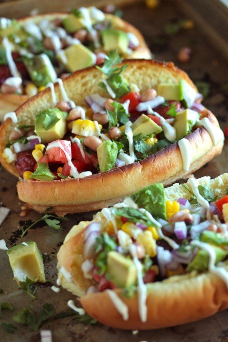 Tex-Mex Style Hot Dogs