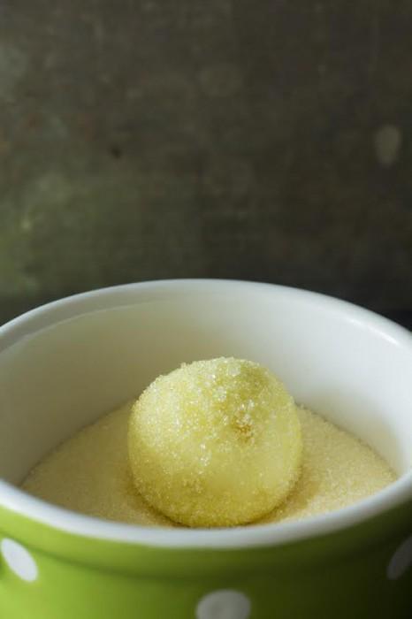 White Chocolate Lemon Truffle ball