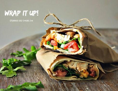 Mesquite Chicken Wrap