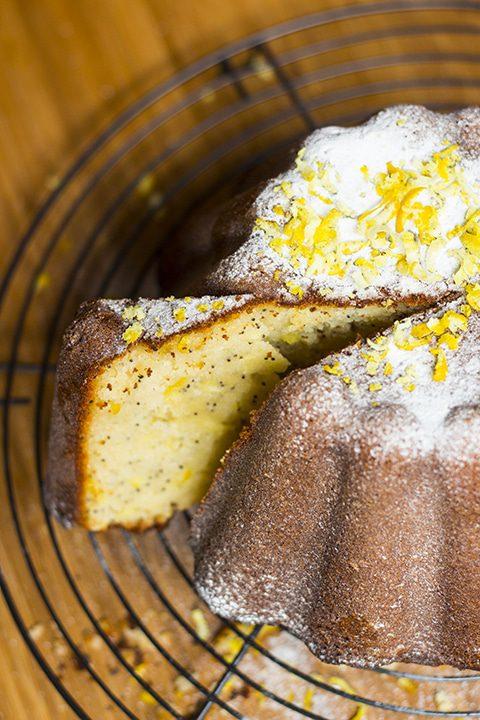 Lemon Poppy Seed Cake - 2