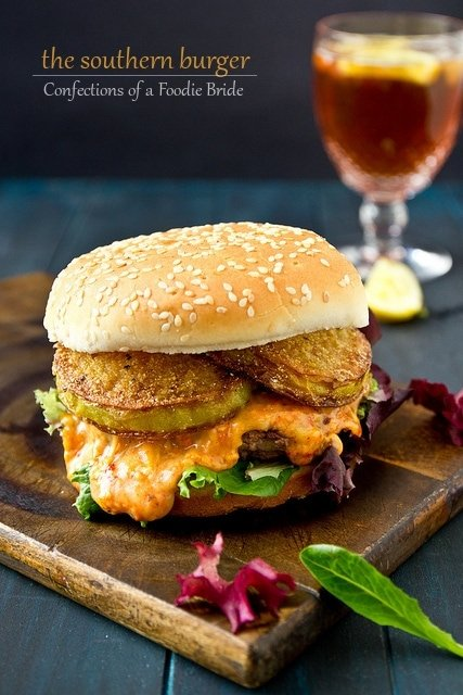 Pimento Cheese Southern Burger