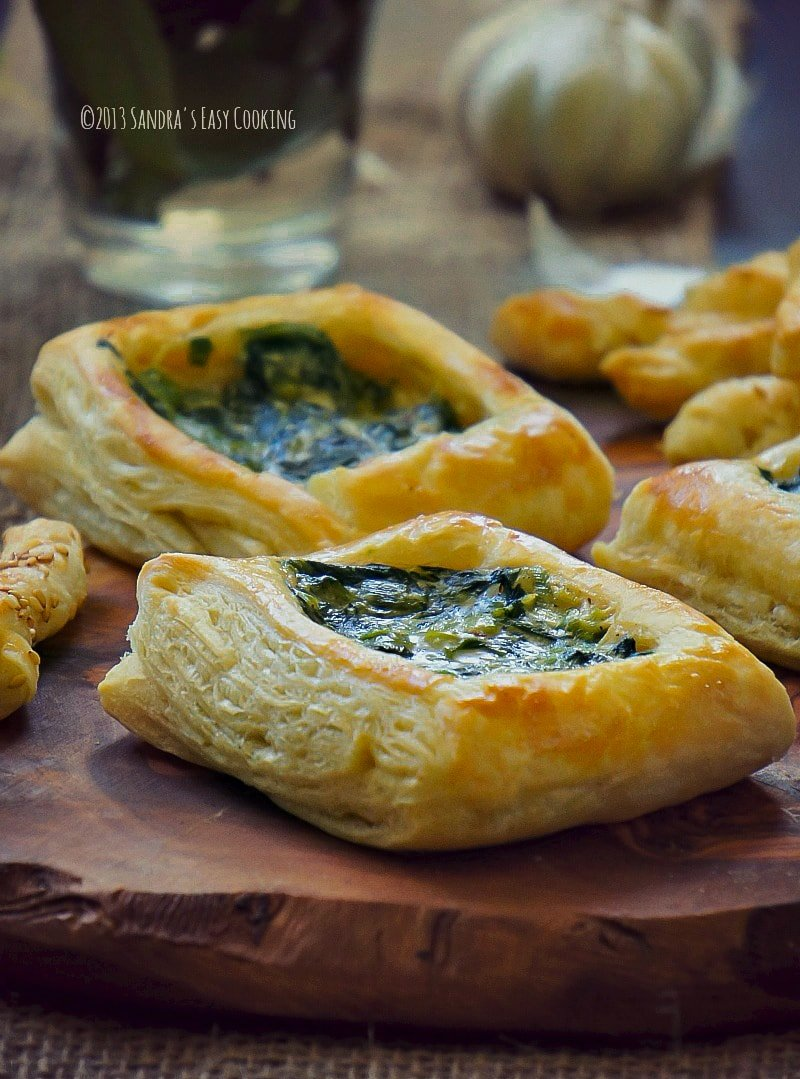 Spinach Alfredo Puff Pastry Swanky Recipes