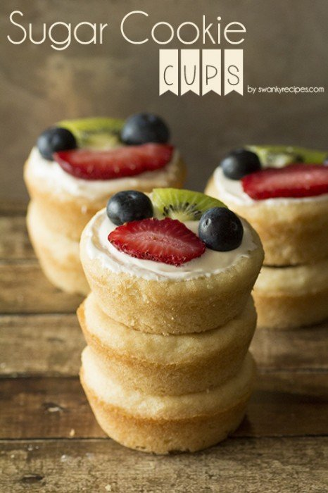 Sugar Cookie Cups Recipe