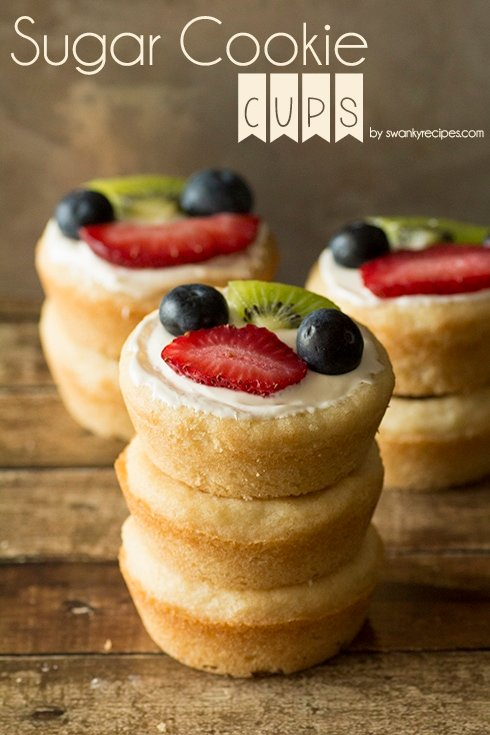 Sugar Cookie Cups Recipe Photo