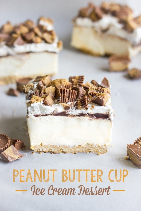 Peanut Butter Ice Cream Dessert