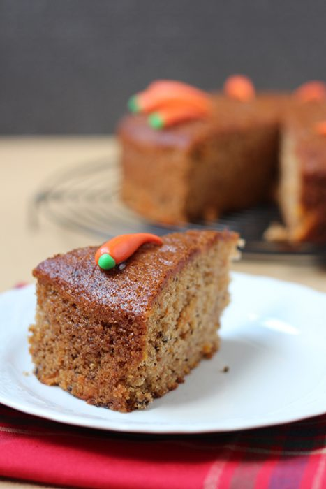 Cinnamon Carrot Cake Recipe