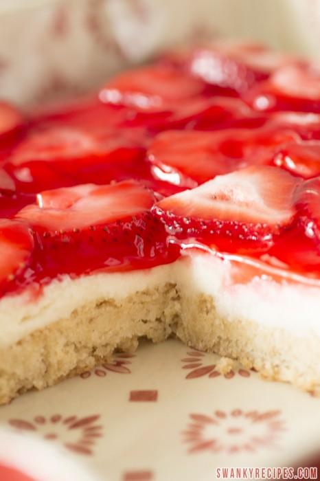 Strawberry & Cream Bars