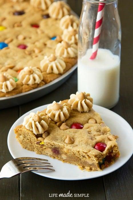 Peanut Butter Cookie Pie