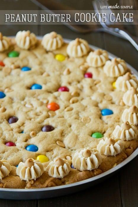 Ultimate Peanut Butter Cookie Pie