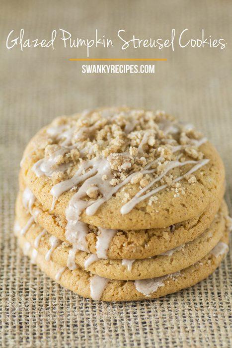 Glazed Pumpkin Sugar Cookies Recipe Photo
