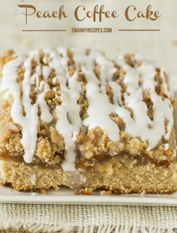 Homemade Peach Coffee Cake Recipe
