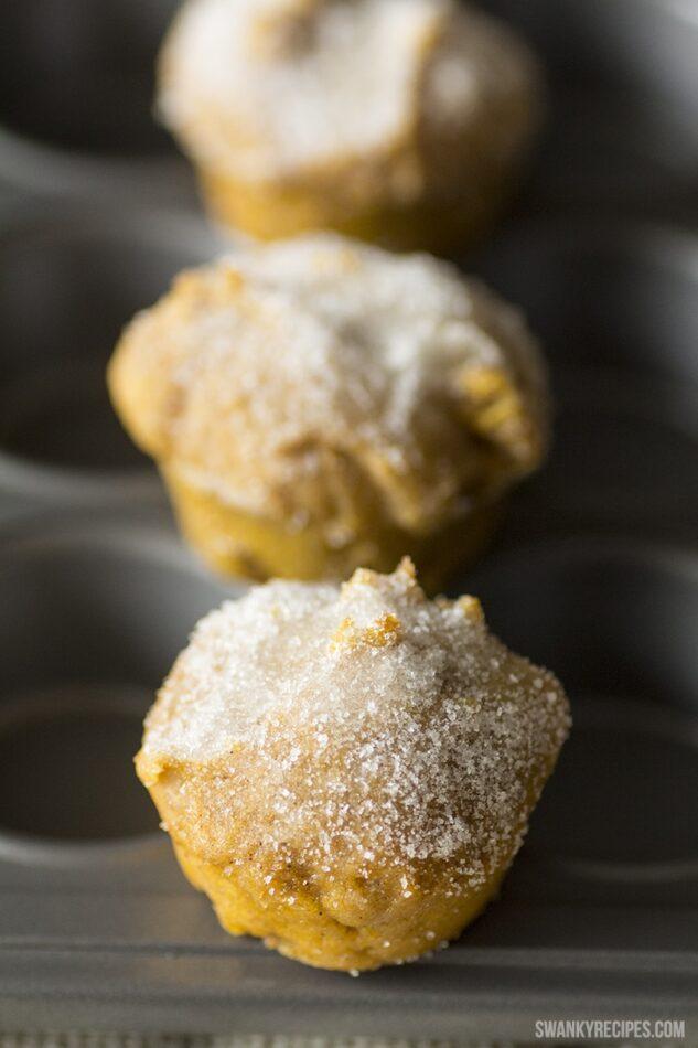 Mini Pumpkin Muffin Donuts