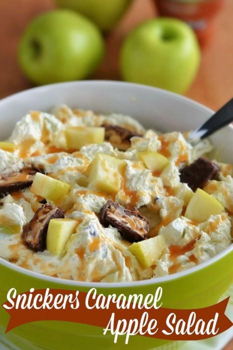Snicker's Caramel Apple Salad