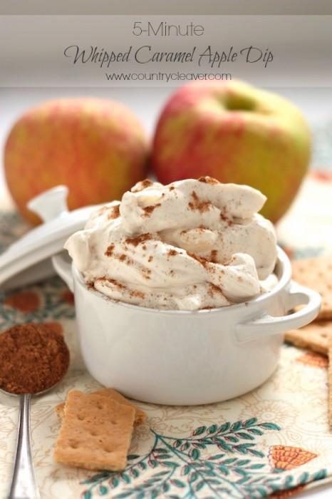 Whipped Caramel Apple Dip