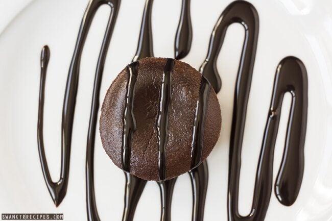 Molten Chocolate Souffle Cake