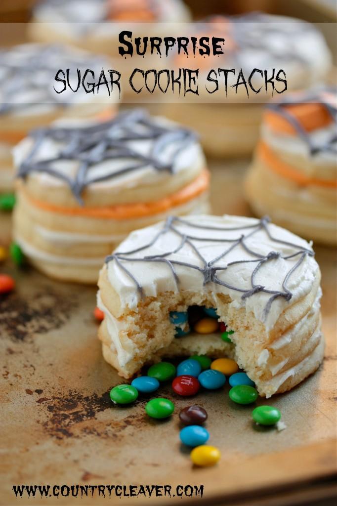Surprise Sugar Cookie Stacks