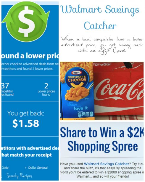 Walmart Savings Catcher Deal