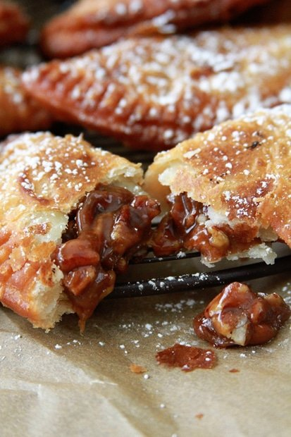 Deep Fried Pecan Pies
